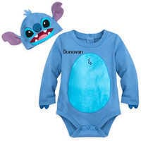 Image of Stitch Costume Bodysuit Set for Baby - Personalizable # 1