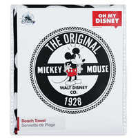 Image of Mickey Mouse Round Beach Towel - Oh My Disney # 3