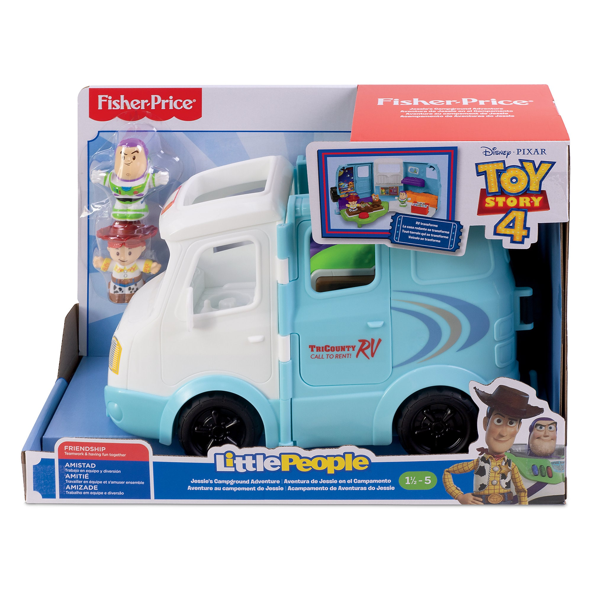 Jessie's Campground Adventure Play Set by Little People – Toy Story 4 released today