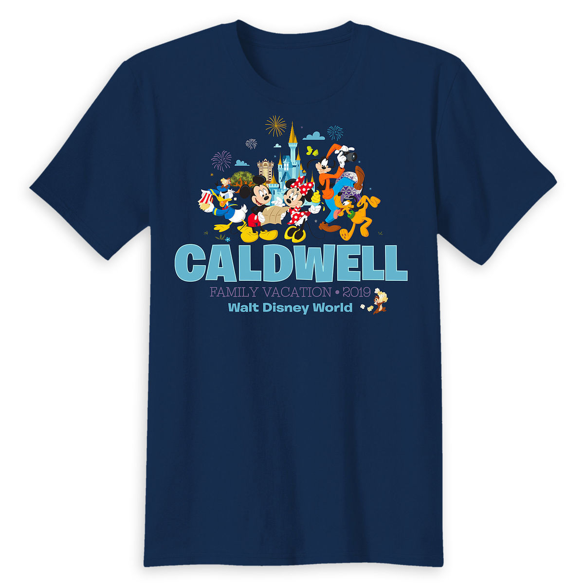 Mickey Mouse And Friends Family Vacation T Shirt For Adults Walt
