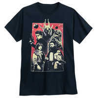 Image of Solo: A Star Wars Cast T-Shirt for Adults # 1