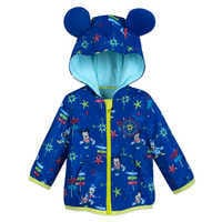 Image of Mickey Mouse and Donald Duck Hooded Jacket for Baby # 1