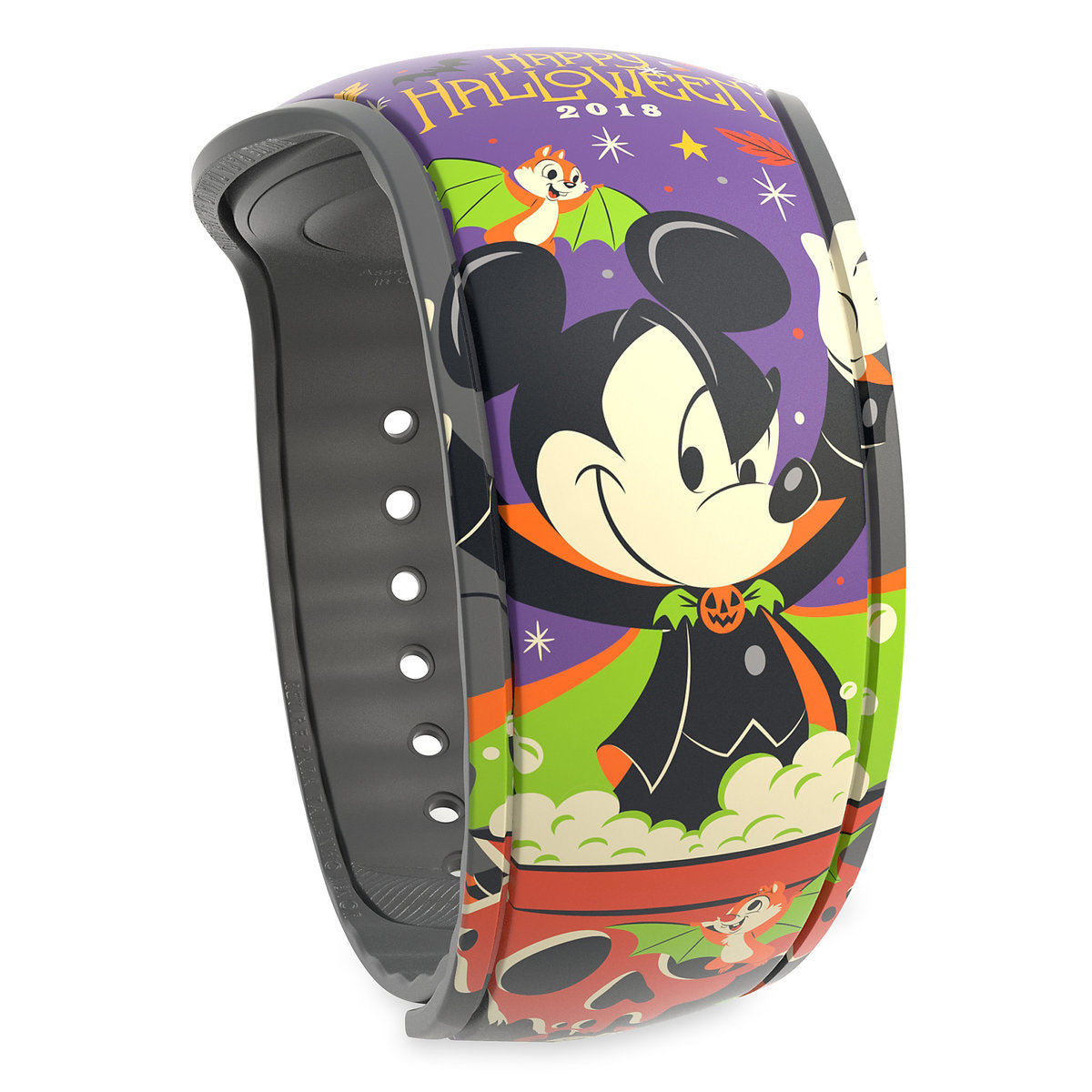 21d008ec Product Image of Mickey Mouse and Friends Halloween 2018 MagicBand 2 # 1