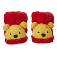 Image of Winnie the Pooh Plush Slippers for Baby # 2