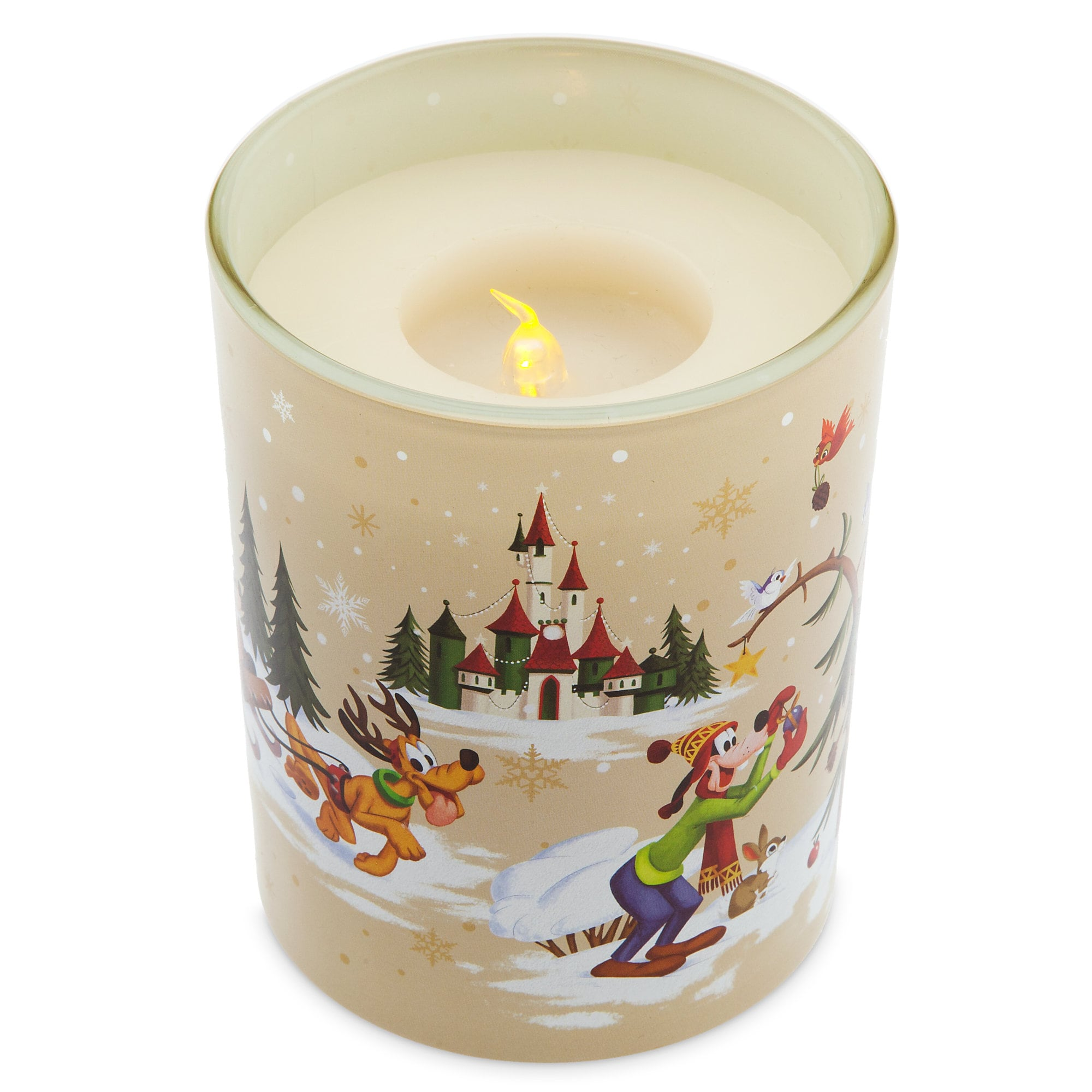 Mickey Mouse and Friends Holiday Light-Up Candle