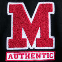 Image of Mickey Mouse Letterman Jacket for Adults # 3