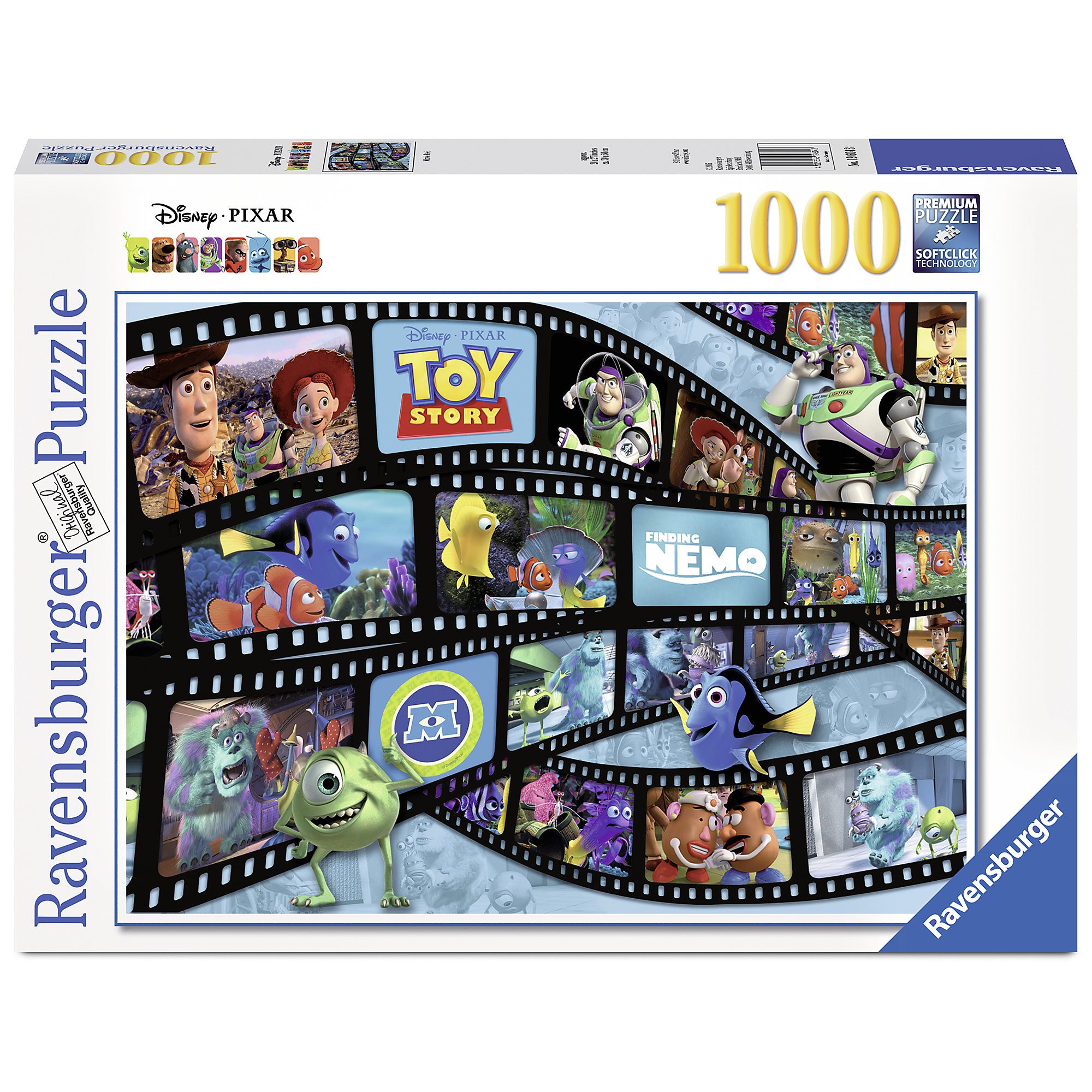 PIXAR Reel Puzzle by Ravensburger
