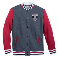 Image of Mickey Mouse Club Varsity Jacket for Men # 1