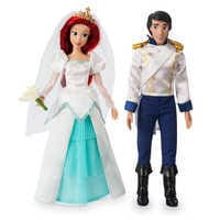 Image of Ariel and Eric Classic Wedding Doll Set - The Little Mermaid # 1