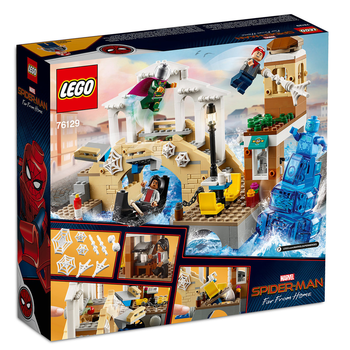 Spider man far from home hydro man attack play set by lego