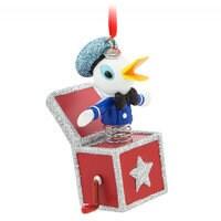 Donald Duck Sketchbook Ornament - Vintage Toy Series