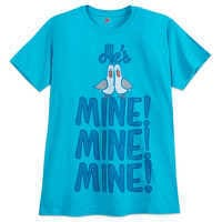 Image of Finding Nemo Seagulls ''He's Mine, Mine, Mine'' Couples T-Shirt for Adults # 1