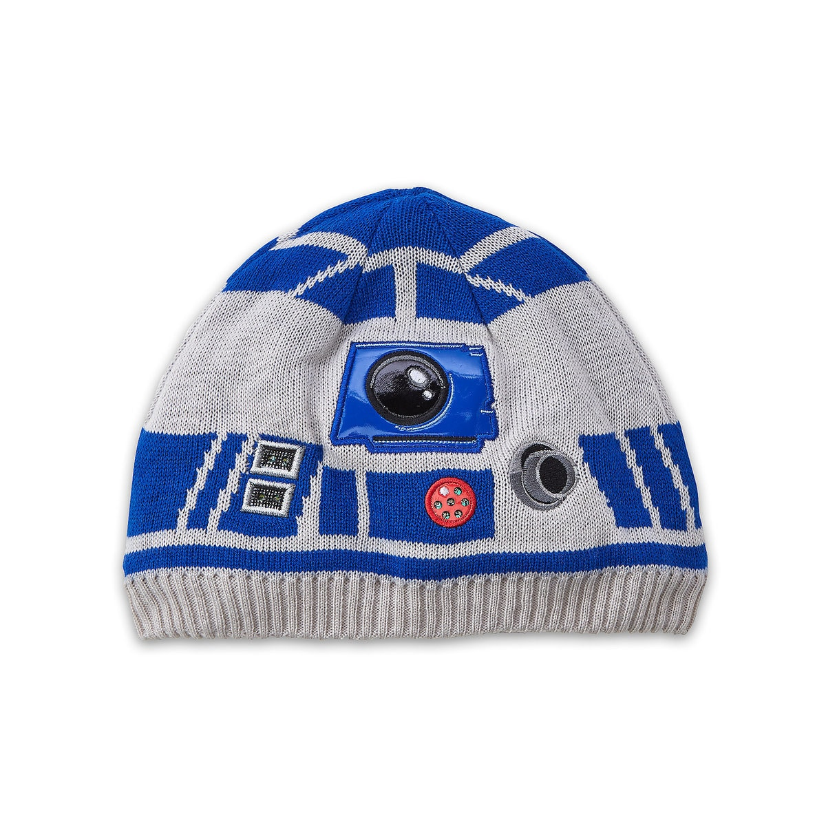 8e3ab369a75f9 Product Image of R2-D2 Light-Up Beanie Hat for Kids - Star Wars