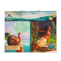 Image of Moana Two-in-One Deluxe Puzzle Set # 2