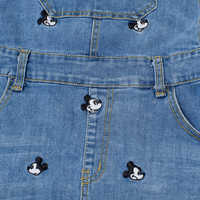 Image of Mickey Mouse Denim Overalls Dress by Cakeworthy # 3