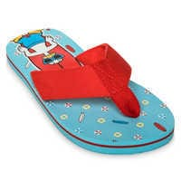 Image of Mickey Mouse and Donald Duck Flip Flops for Boys # 1