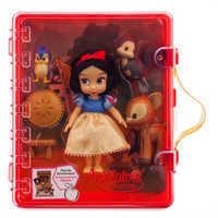 Image of Disney Animators' Collection Snow White Mini Doll Playset # 3