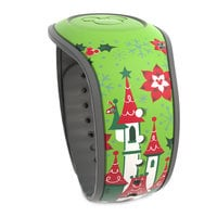 Mickey and Minnie Mouse Happy Holidays MagicBand 2 - Limited Release
