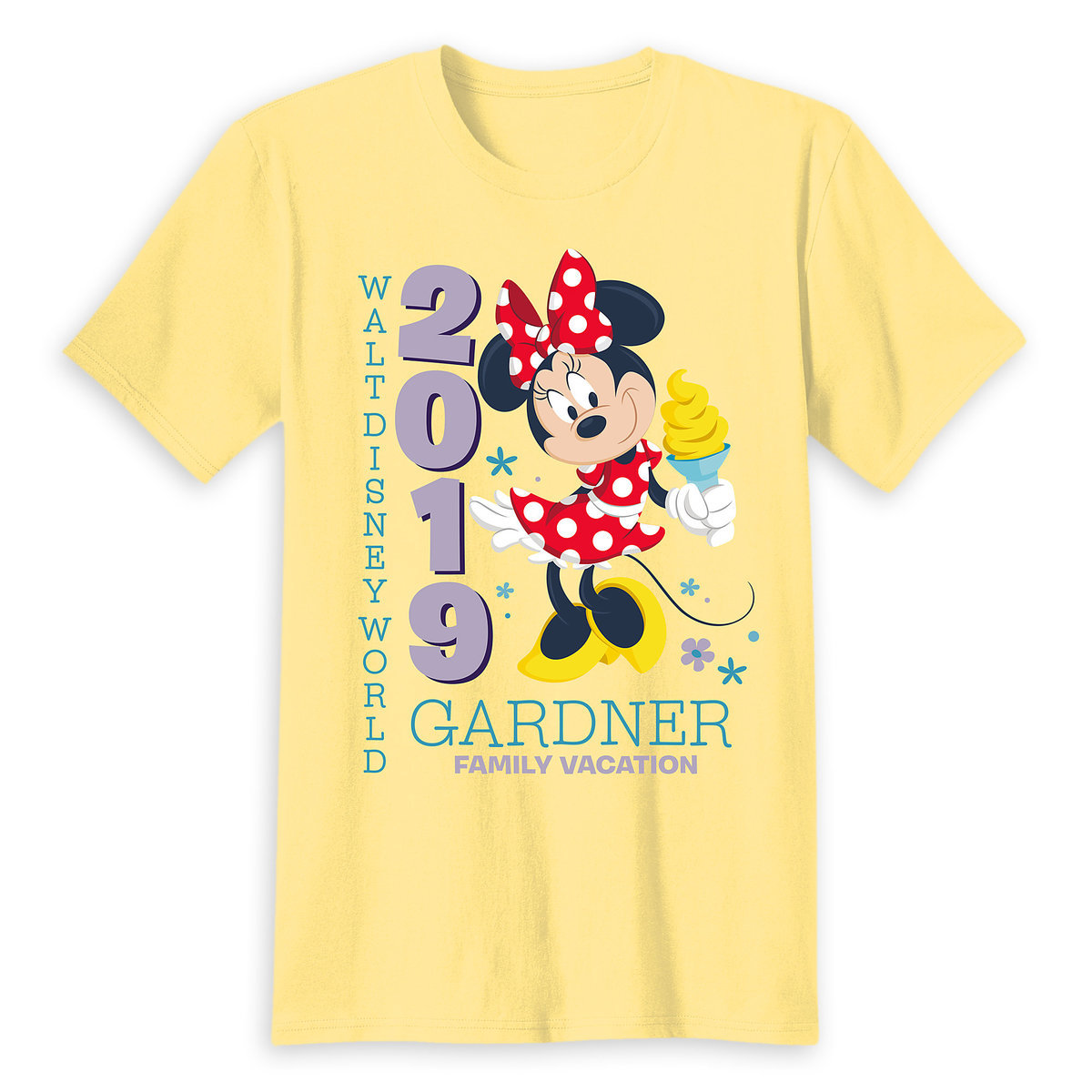 ad2b19a3 Product Image of Minnie Mouse Family Vacation T-Shirt for Adults - Walt  Disney World