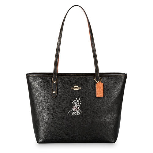 Minnie Mouse City Zip Tote By Coach Shopdisney