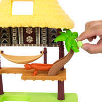 Image of Disney Moana Island Fale Playset # 3