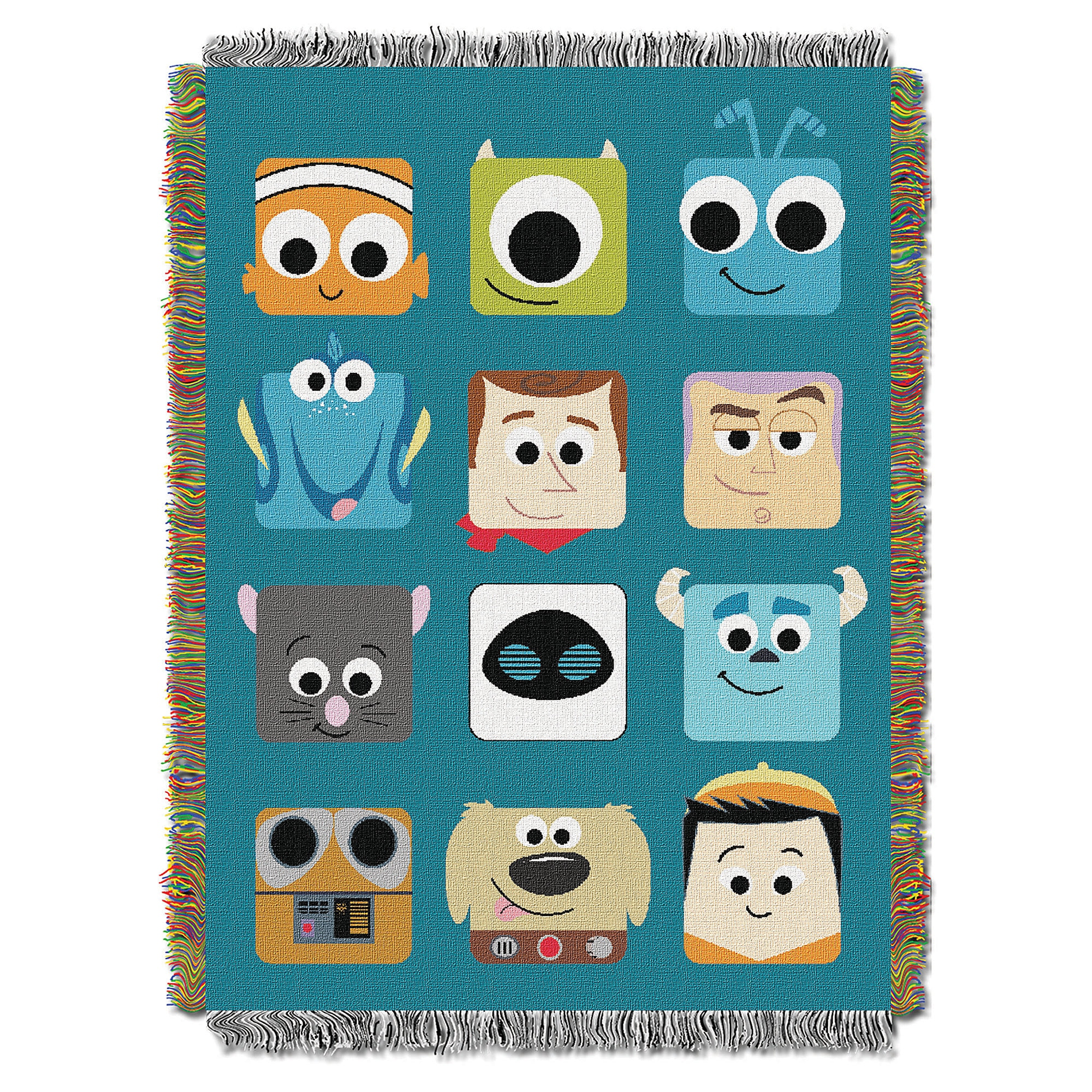 Pixarland Woven Tapestry Throw