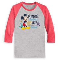 Image of Mickey Mouse Family Vacation Raglan Shirt for Men - Walt Disney World 2019 - Customized # 1