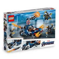 Image of Captain America Outriders Attack Play Set by LEGO - Marvel's Avengers: Endgame # 3
