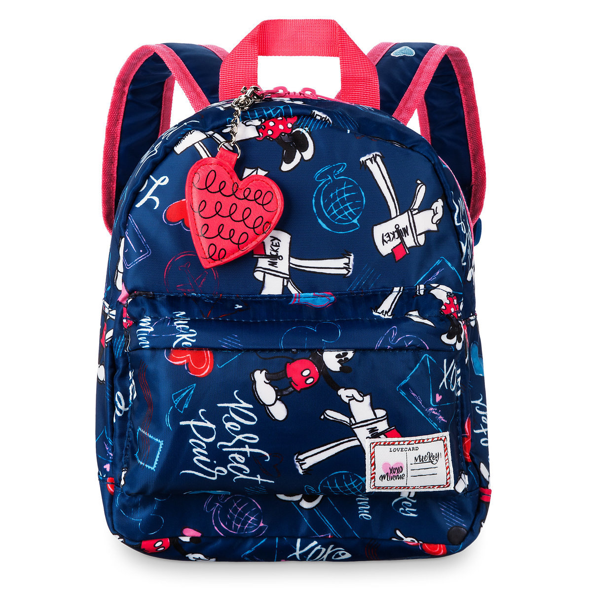 81ba2f2362 Product Image of Mickey and Minnie Mouse Sweethearts Backpack - Small # 1