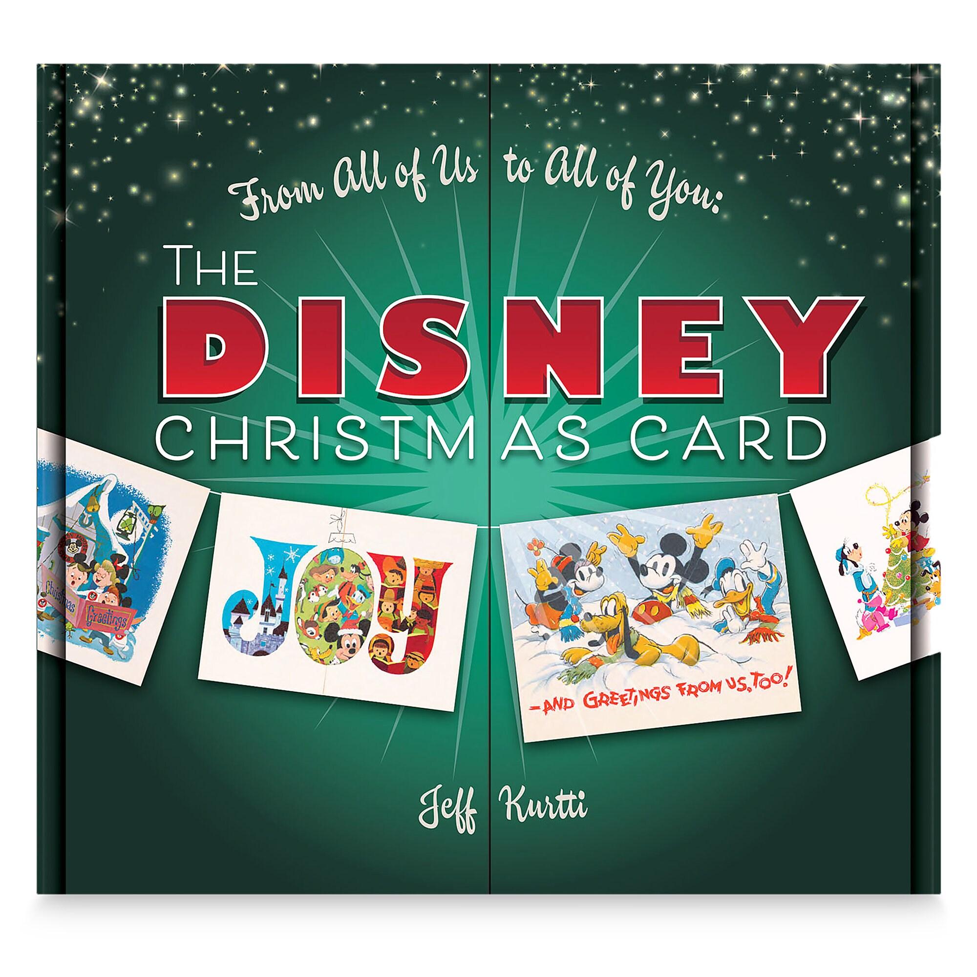 The Disney Christmas Card Book Shopdisney