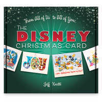 Image of The Disney Christmas Card Book # 1