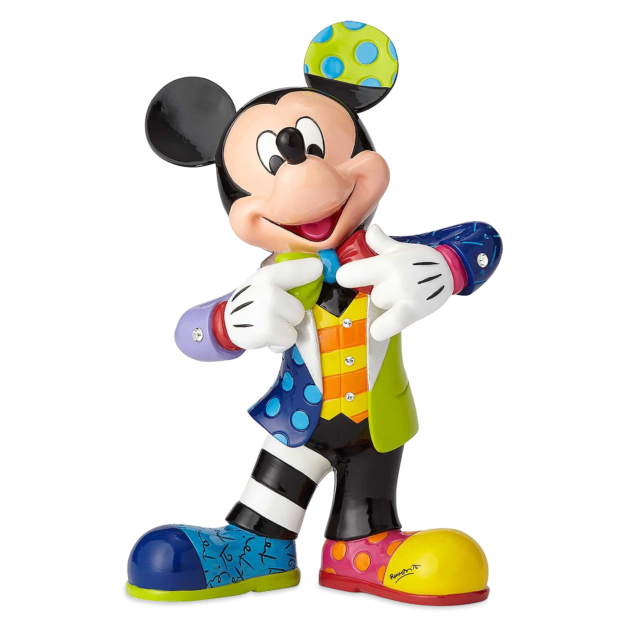 Mickey Mouse Bling Figure by Britto - 10 1/4'' H