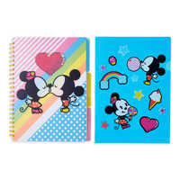 Image of Mickey and Minnie Mouse Notebook and Folder Set # 2