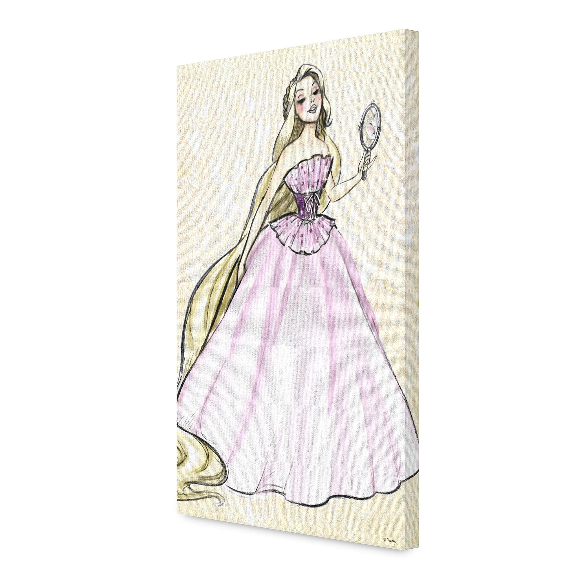 Rapunzel Canvas Print - Art of Princess Designer Collection