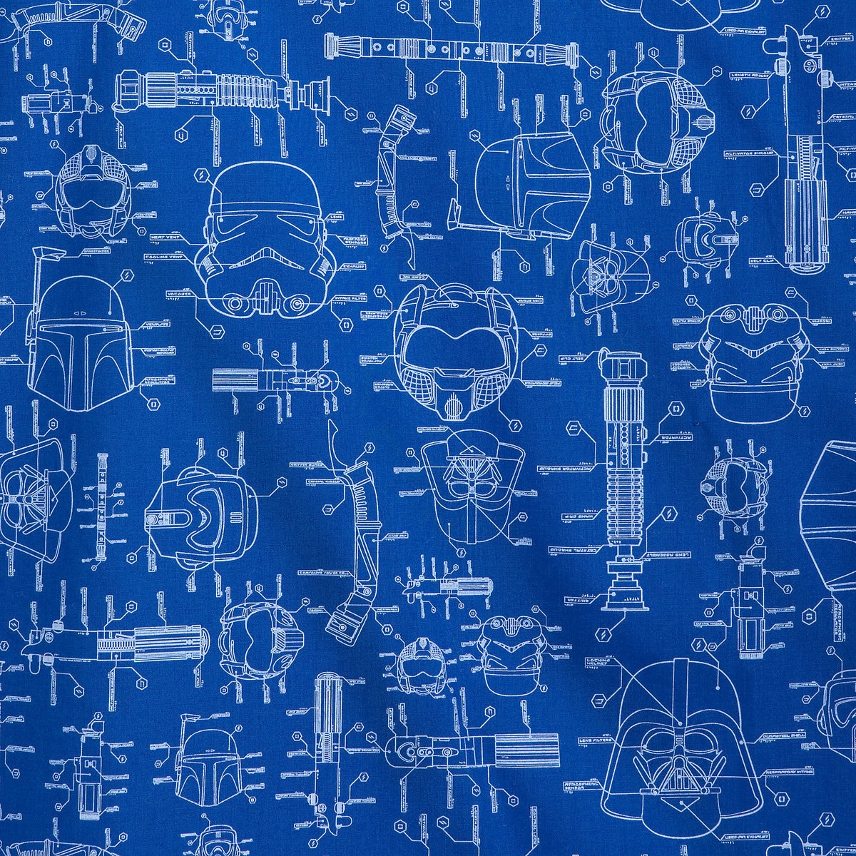 Bedwelming Star Wars Blueprints Woven Shirt for Men | shopDisney &RT96