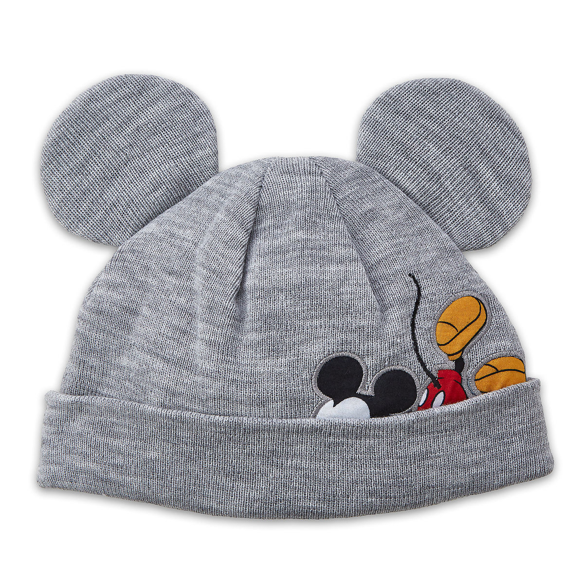 1da28acb828 Product Image of Mickey Mouse Knit Ear Beanie for Kids   1