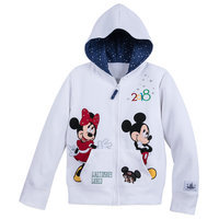 Image of Mickey Mouse and Friends Zip-Up Hoodie for Kids - Walt Disney World 2018 # 1