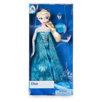Image of Elsa Classic Doll with Ring - Frozen - 11 1/2'' # 2