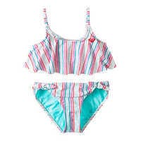 Image of The Little Mermaid Striped Swimsuit for Girls by ROXY Girl # 1