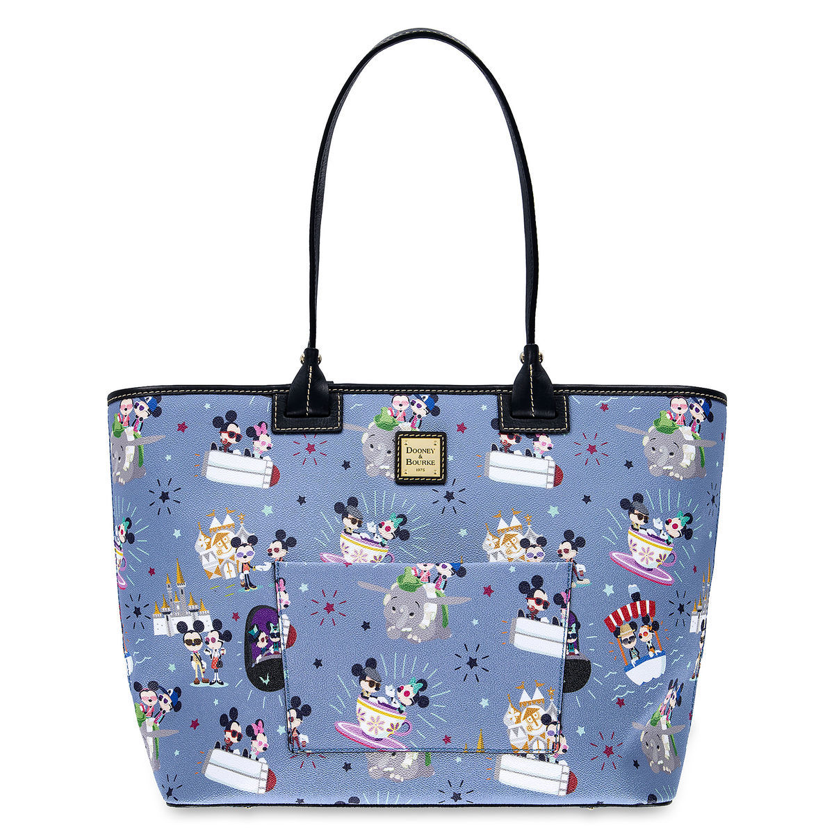 Product Image of Mickey and Minnie Mouse Large Tote by Dooney   Bourke   1 1a2b701305a30