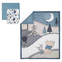 Image of Winnie the Pooh Crib Bedding Set by Lambs & Ivy # 1
