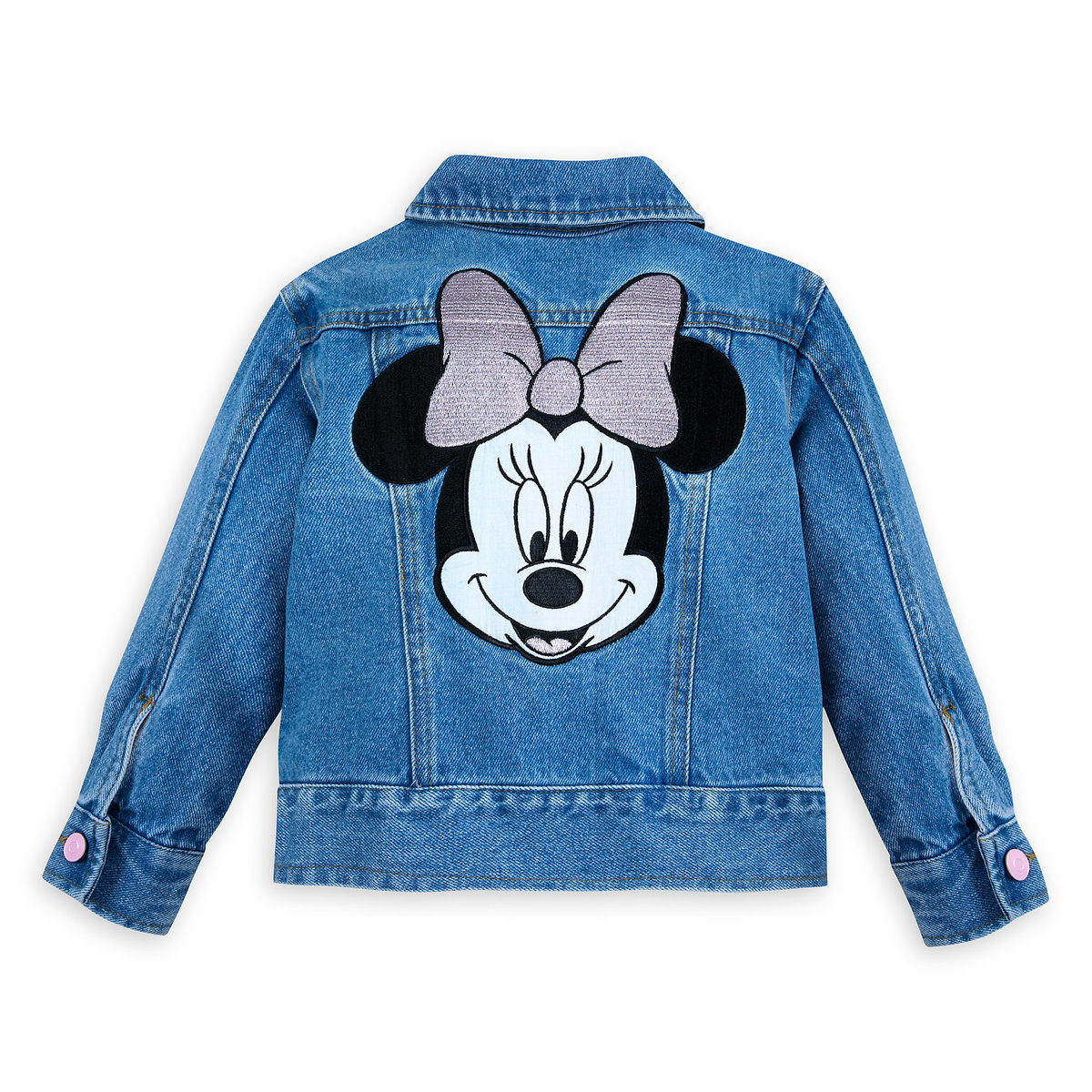 eb9e3dd3b701f Product Image of Minnie Mouse Denim Jacket for Girls   9