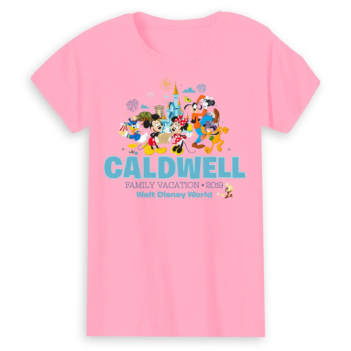 Mickey Mouse And Friends Family Vacation T Shirt For Women Walt