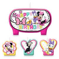Image of Minnie Mouse and Friends Birthday Candles Set # 1