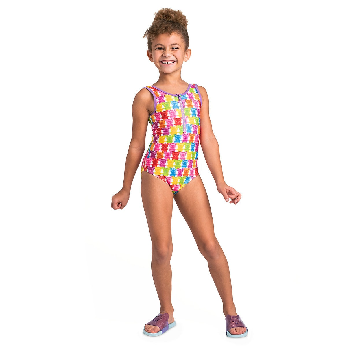 25f04408a8 Product Image of Mickey and Minnie Mouse Swimsuit and Shorts Set for Girls  # 3