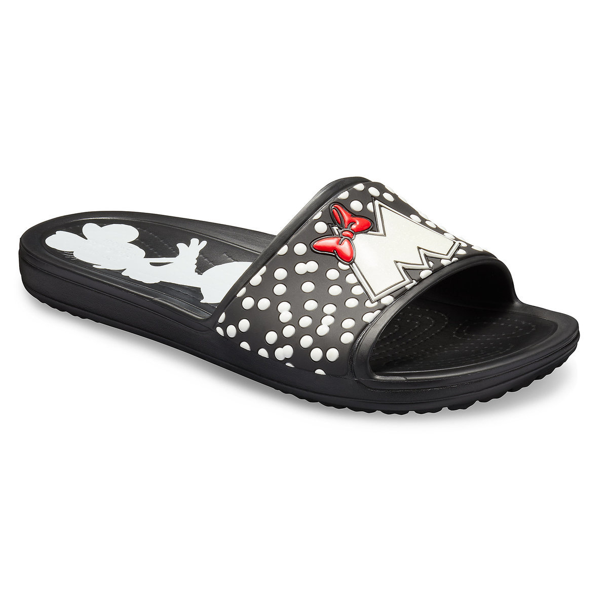 aef81d9f3 Product Image of Minnie Mouse Sloane Slides for Women by Crocs   1