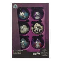 Image of The Nightmare Before Christmas Ball Ornament Set # 3