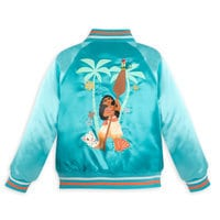 Image of Moana Varsity Jacket for Girls - Personalizable # 3