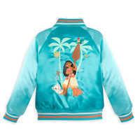 Image of Moana Varsity Jacket for Girls - Personalizable # 3