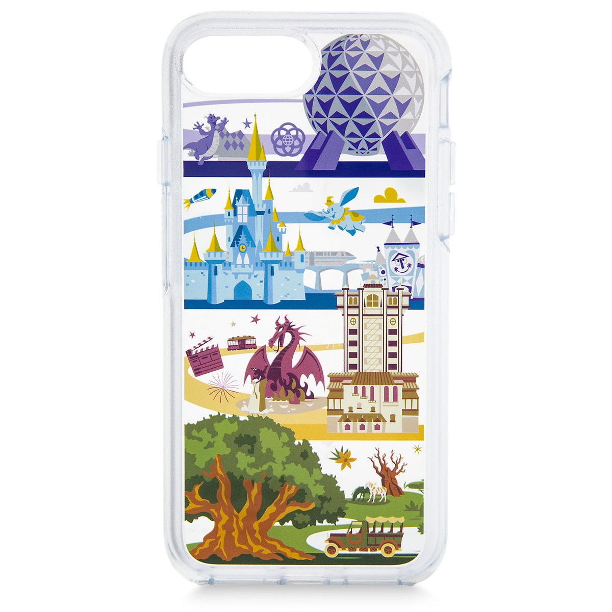 designer fashion 6b43c f4e93 Walt Disney World OtterBox iPhone 8 Plus Case